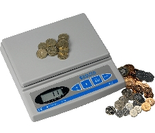 Salter Brecknell 402 Coin Checker