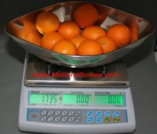 Adam 15kg Retail Scale<br>with vegetable scoop