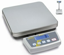 Kern DE-D Series<br>Platform Bench Scales