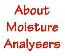What is a moisture analyser?